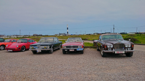 Cars at Dungeness